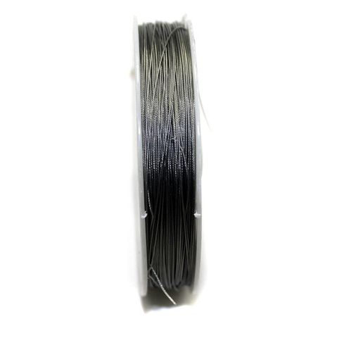 100 MtrJewellery Making Metal Beading Wire Silver 0.45