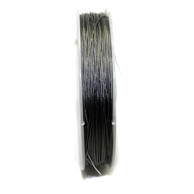 100 MtrJewellery Making Metal Beading Wire Silver 0.45