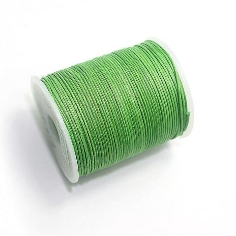 100 Mtrs. Cotton Cord Peridot 1mm
