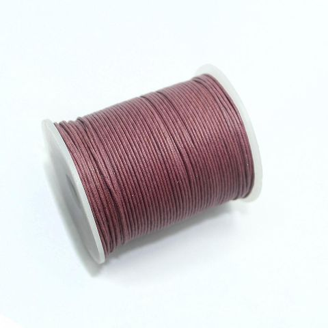 100 Mtrs. Cotton Cord Cherry 1mm