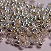 720+ Crimp Beads Silver 1mm