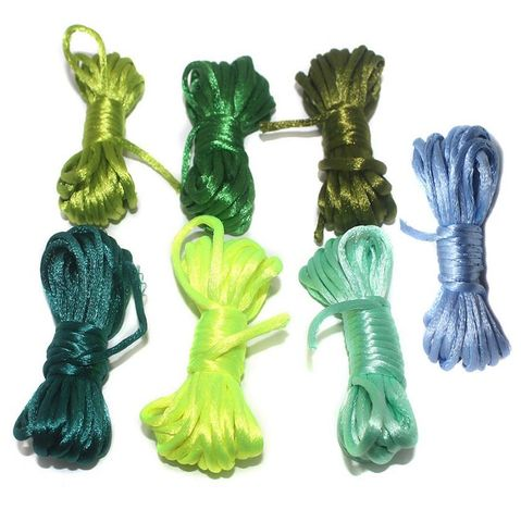 Rattail Cord Combo Assorted 6 Colors 2mm