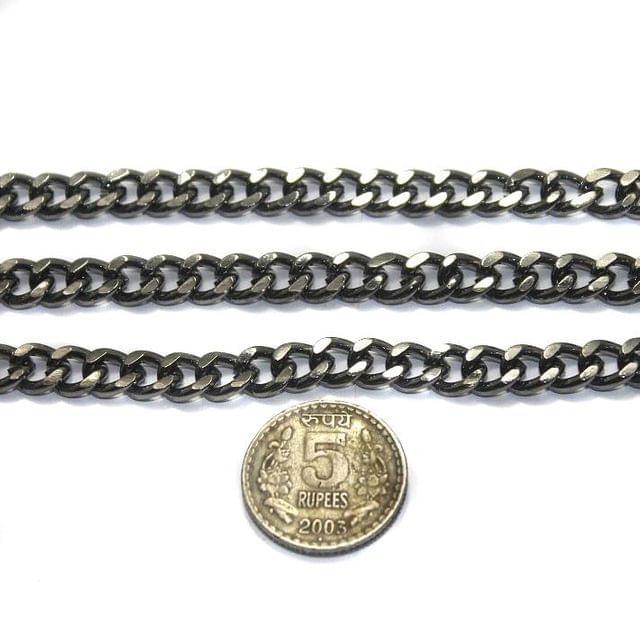 Metal Chain Black Antique 1 Mtr
