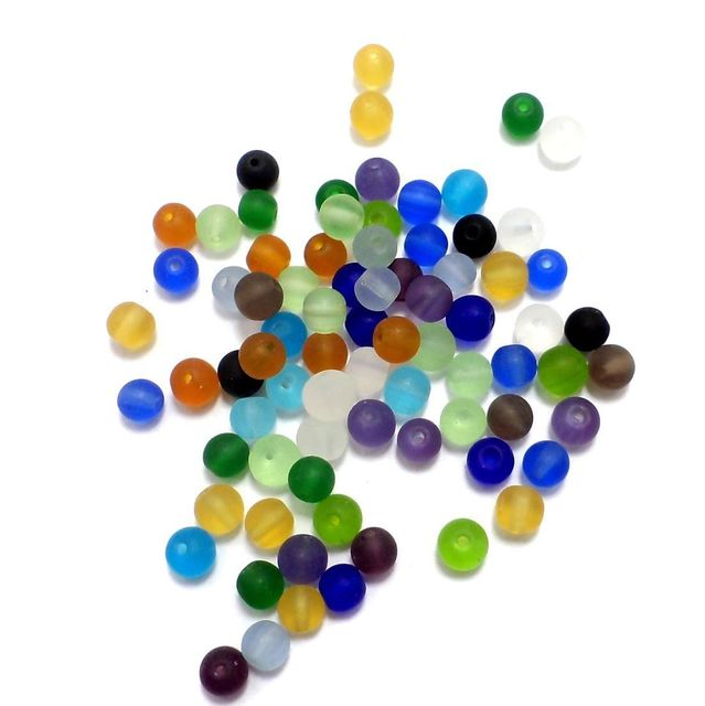 Round Beads Matte 6mm