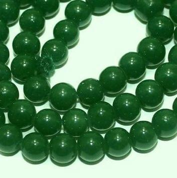 Jaipuri Beads Light Green Round 5 Strings 6mm