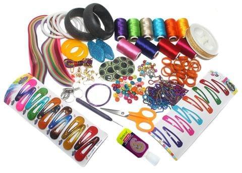 Silk Threads Jewellery Making Kit Professional Jumbo