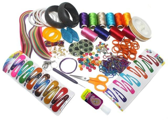 Silk Threads Jewellery Making Kit Professional Jumbo