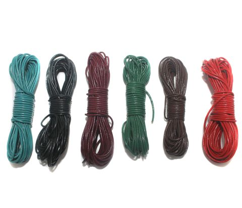 6 Leather Cord Combo Assorted 1