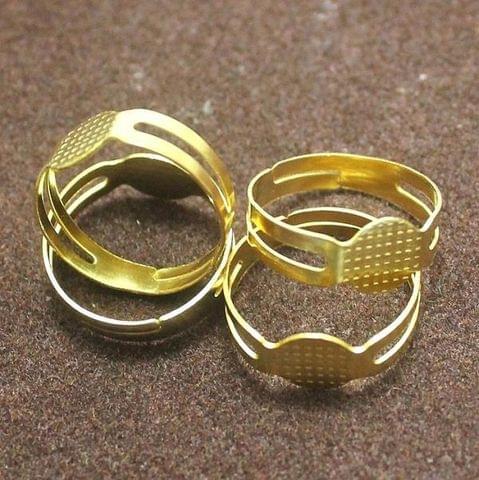 20 Finger Ring Base Golden Free Size