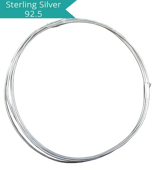 Sterling Silver 0.6mm Wire (1 Meter)