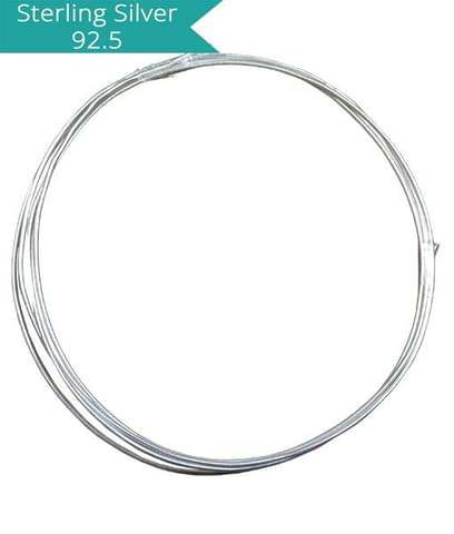 925 Silver 1.0mm Wire (1 Meter)