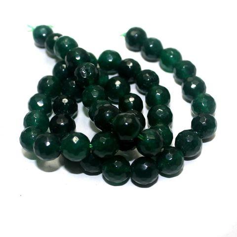 45+ Semiprecious Round Beads Green 8mm