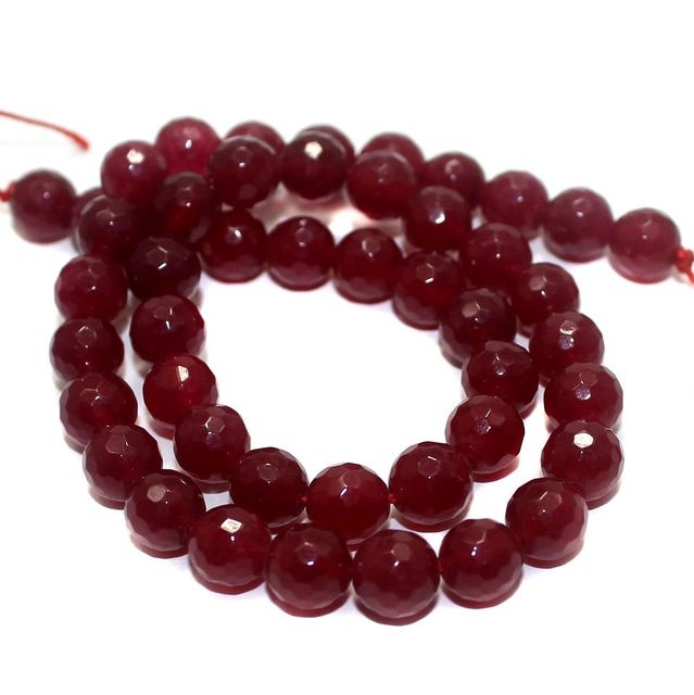 45+ Semiprecious Round Beads Coral 8mm