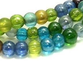 5 strings Glass Round Beads SP 4