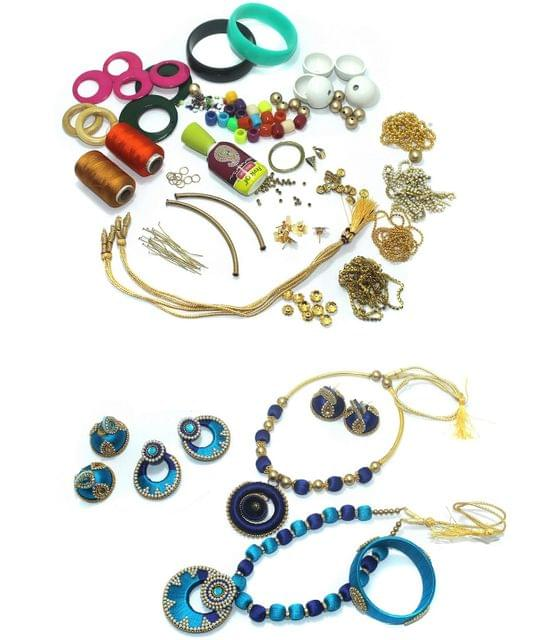 Silk Thread Jewellery Making DIY Kit