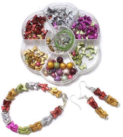 Kids Jewellery Making Acrylic Beads DIY Kit2