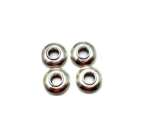 10 pcs Rondell Pandora Beads 14x4mm