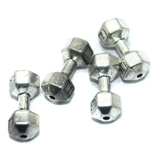 25 Pcs. German Silver Spacer Beads, Size-20x8mm