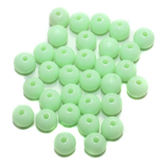 400 Acrylic Round Beads Pridot 5mm