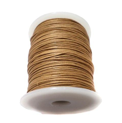 100 Mtrs. Jewellery Making Cotton Cord Beige 1 mm