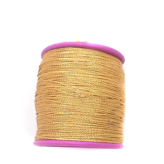 Soutache Thread Golden 200 Mtr