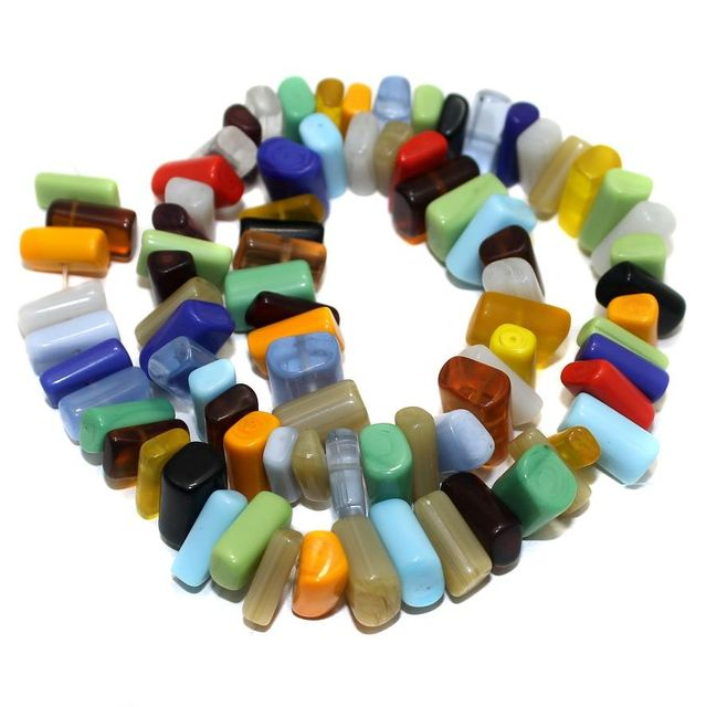 70+ Hanger Beads Assorted 12x7mm