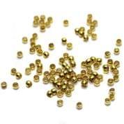 720+ Crimp Beads Golden 1mm