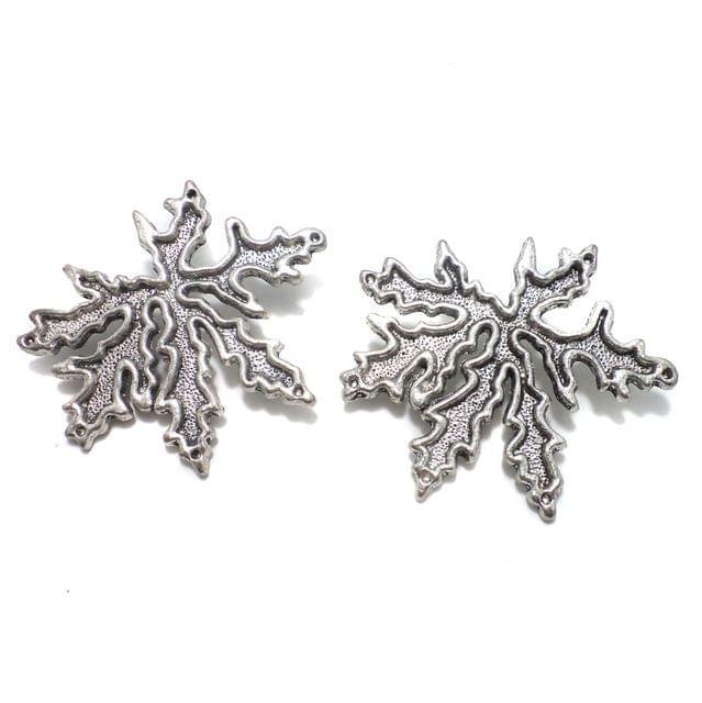 2 Pcs. German Silver Pendants 49 mm