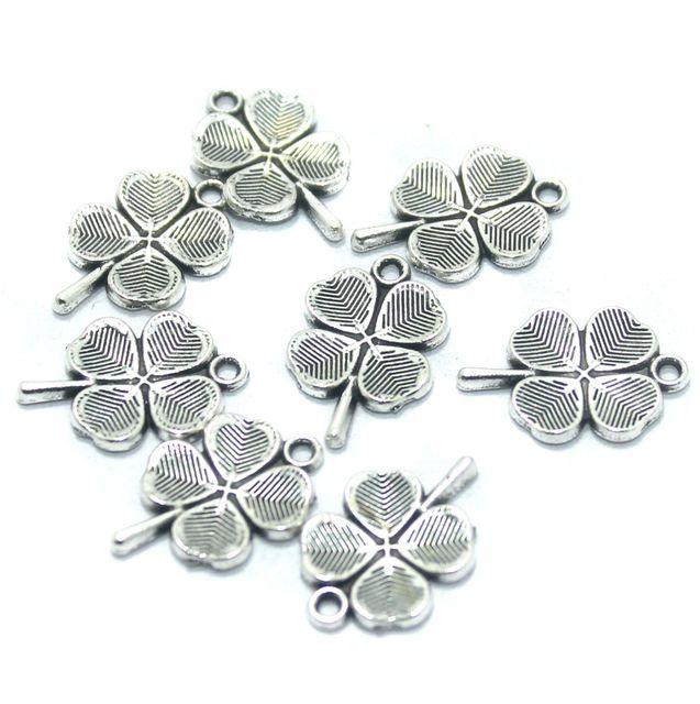 50 Pcs. German Silver Charms, Size-20x13mm