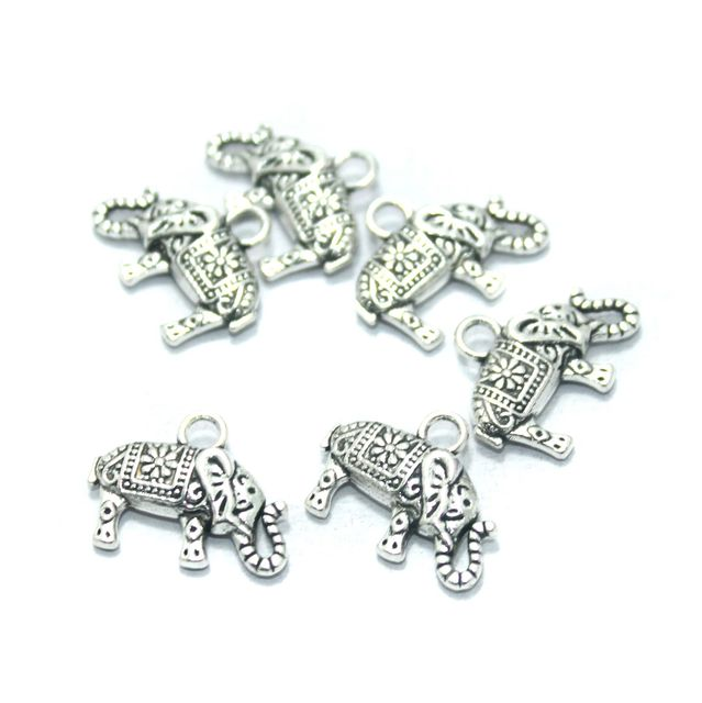 50 Pcs. German Silver Charms, Size-17x13mm