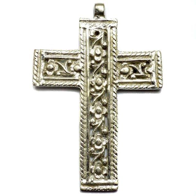 Metal Cross Pendants 80x55mm