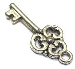 20 Key Charms 22x9 mm