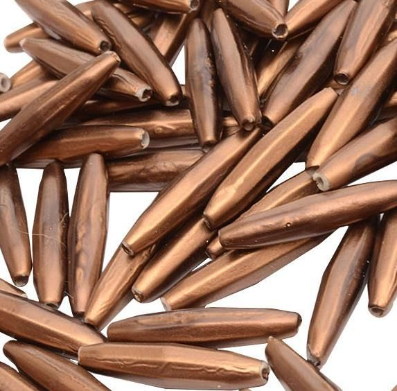 Buy 1 Get 1 Free Cylindrical Copper Acrylic Bead