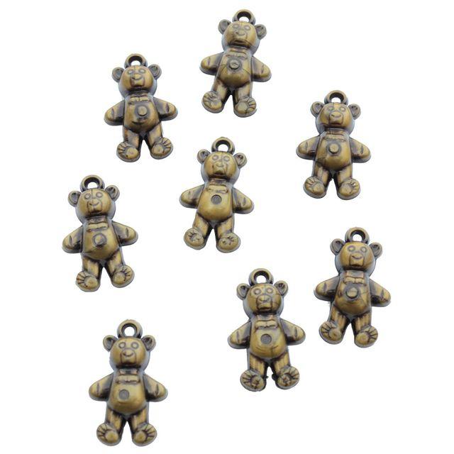 Buy 1 Get 1 FreeFoppish Mart Cute Acrylic Teddy Charms Beads