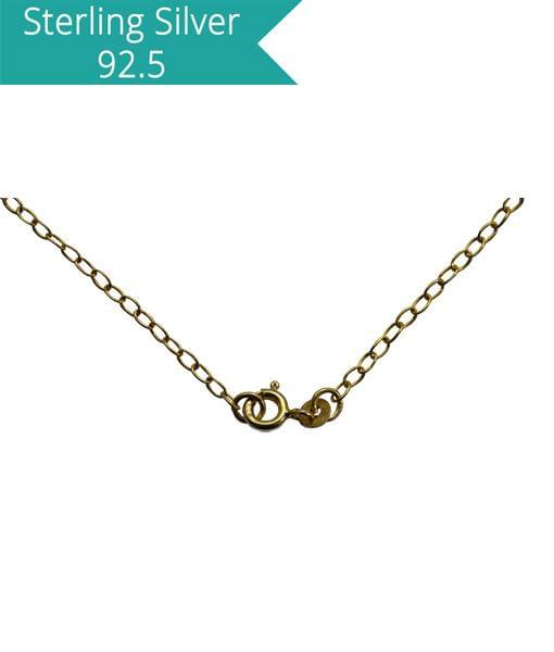 Oval Link Chain - 45 cms