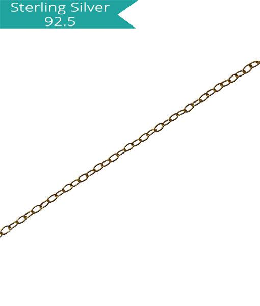 Oval Link Chain - 100 cms