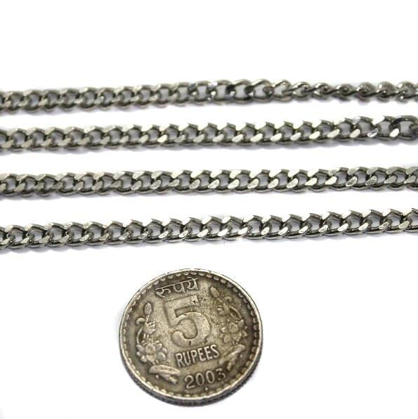 Metal Chain Silver 2 Mtrs
