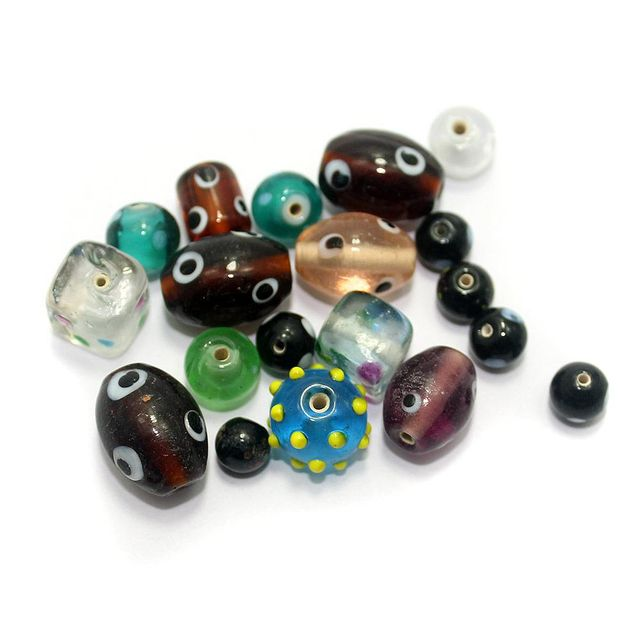 35+ Bump Beads Assorted 8-20mm