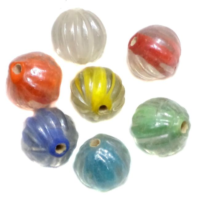 65+ Melon Beads Inside Color Assorted SP 10mm