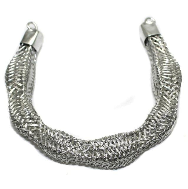 Necklace Collar Silver 7 Inch