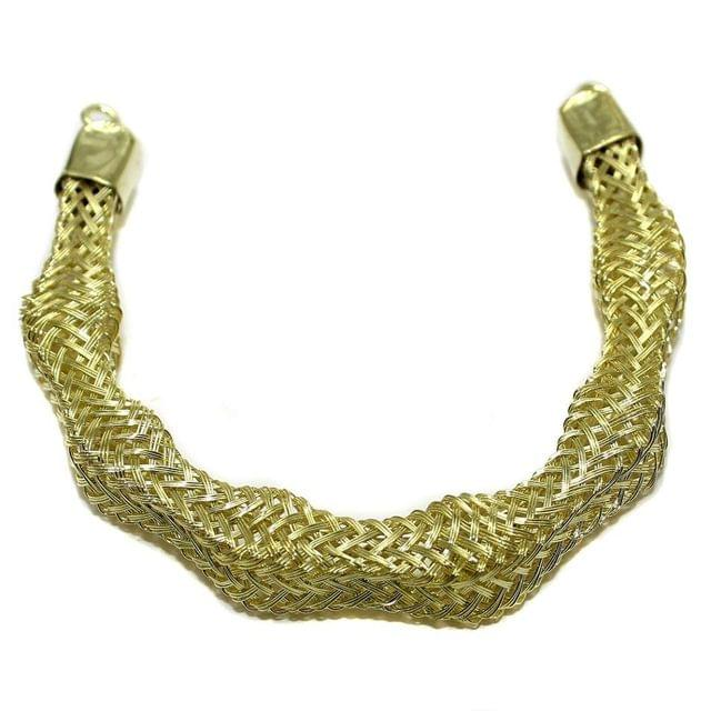 Necklace Collar Golden 7 Inch