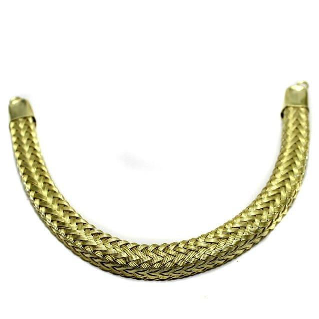 Necklace Collar Golden 7.5 Inch