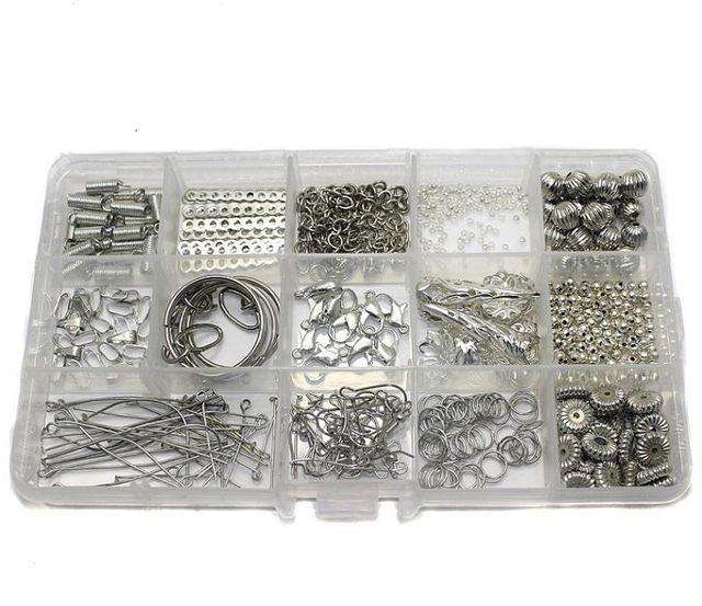 Jewellery Making Finding DIY Kit Silver