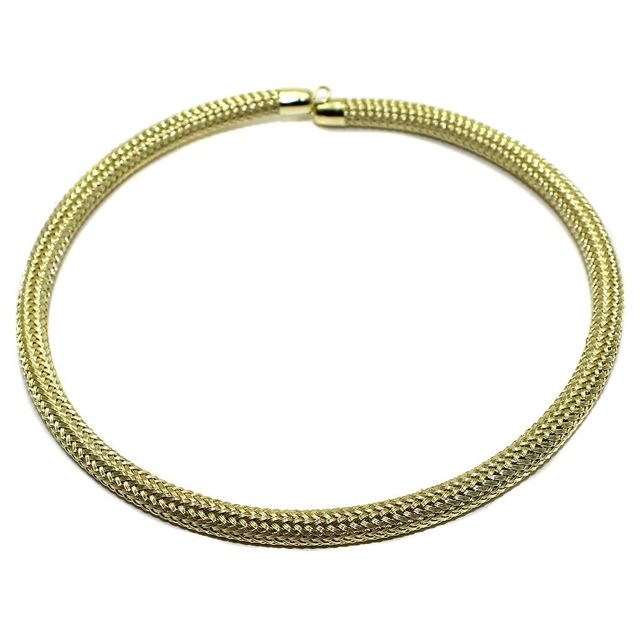 Necklace Collar Golden 15 Inch