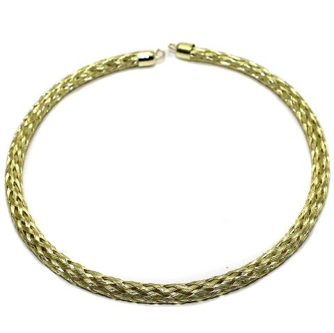 Necklace Collar Golden 14 Inch