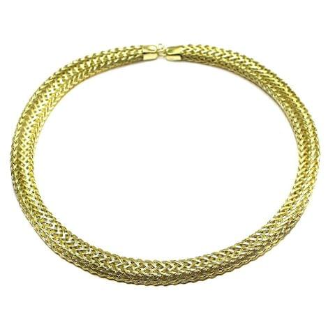 Necklace Collar Golden 15 Inch