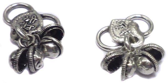 10 German Silver S Hooks 12x16mm