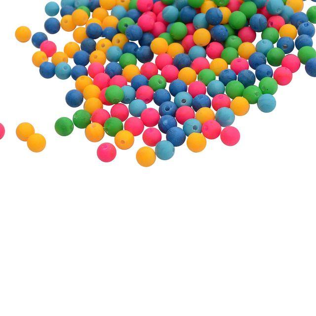 Buy 1 Get 1 FreeFoppish Mart Multicolored Neon Acrylic Beads