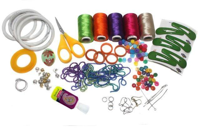 Silk Threads Jewellery Making Kit Starter