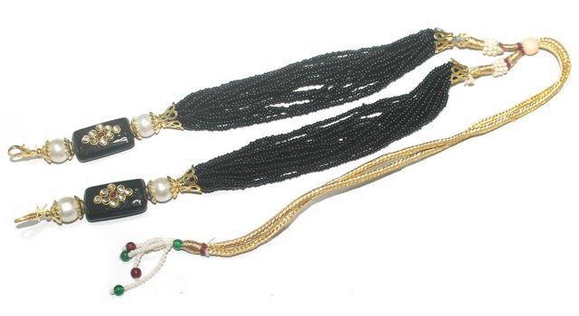 Necklace Dori Black, Pack Of 1 Pc
